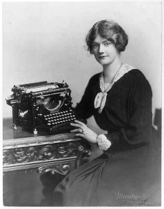 Woman at a Typewriter